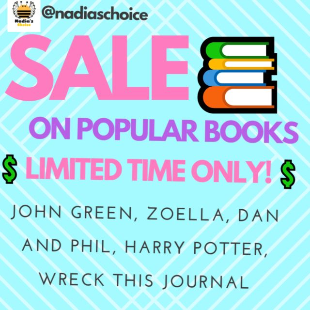 PRICES REDUCED ON ALL BOOKS!! :)