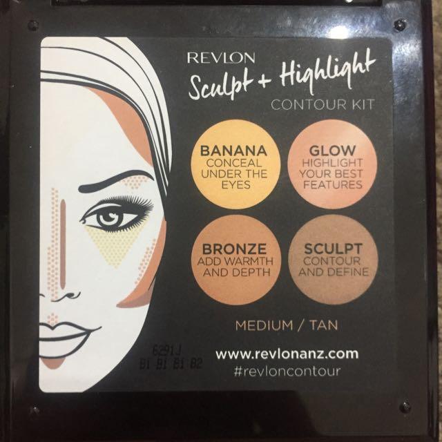 Revlon X Chloe Morello Sculpt And Highlight Kit