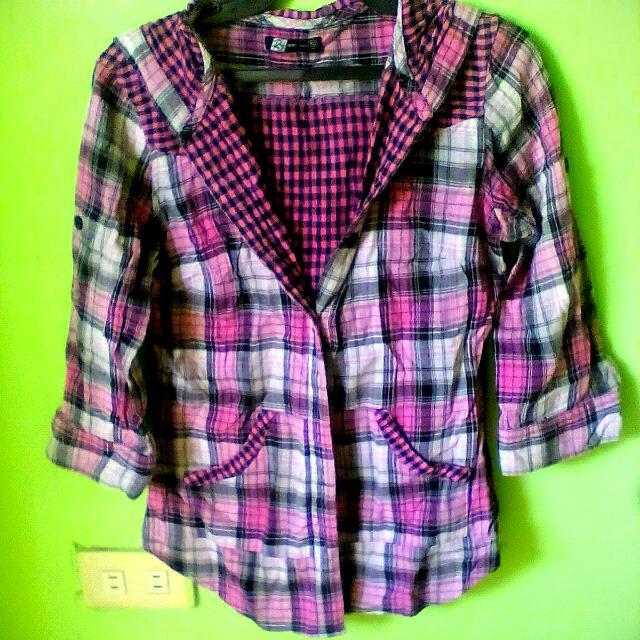 rrj 3/4 sleeve outwear w/hood