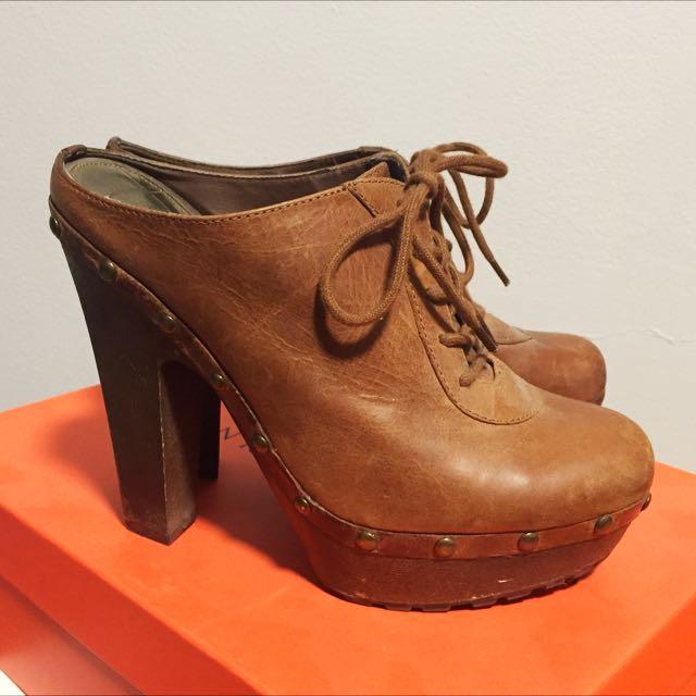 Sam Edelman Heels/Clogs; Size 6