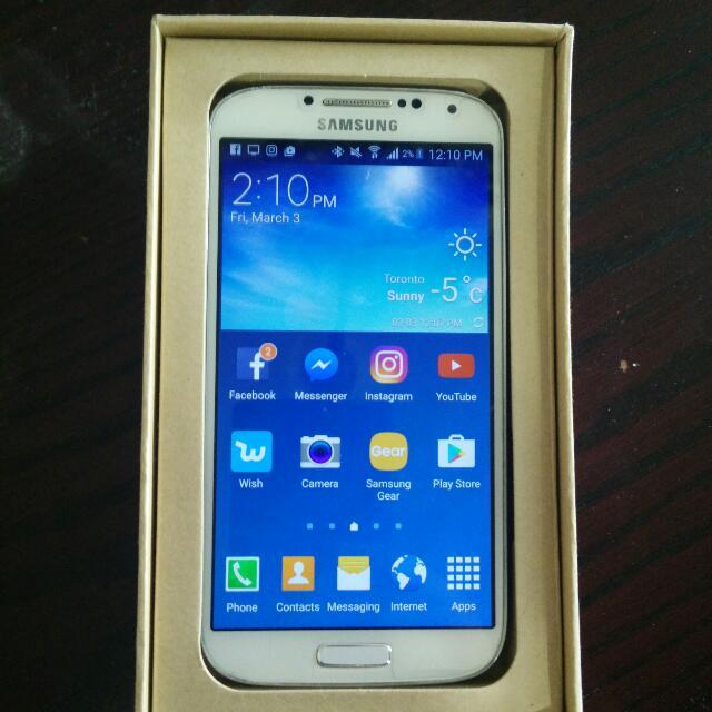 Samsung S4 16 GB Unlocked