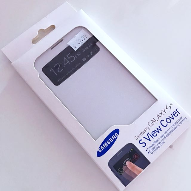 🆕Samsung S4 S View Cover