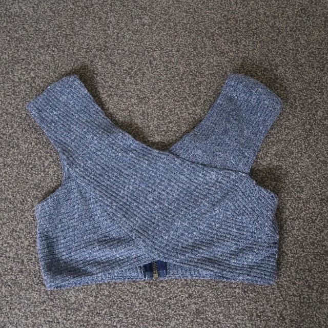 'Santeria' Grey Top.