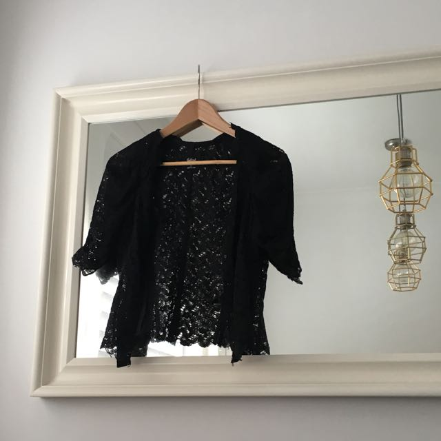 Short Lace Jacket