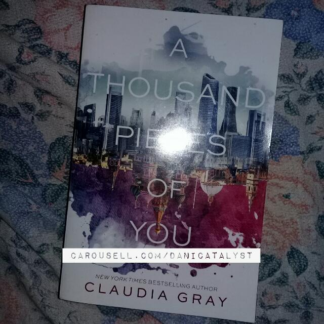 [SIGNED] A Thousand Pieces Of You by Claudia Gray