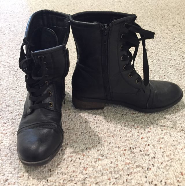 Sirens Combat Boots
