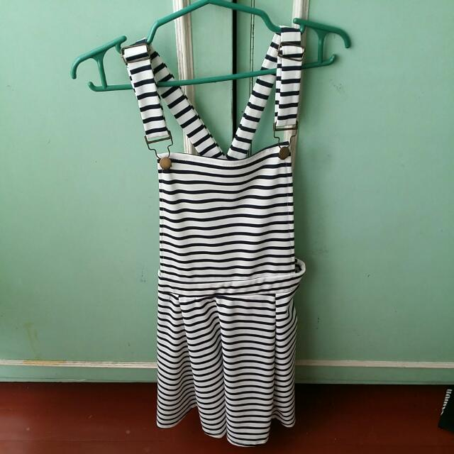 Stripes JUMPER DRESS