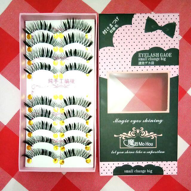 Taiwanese False Eyelashes 02 (1 Box)