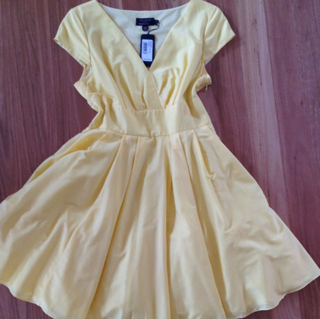 Ted Baker Yellow Dress
