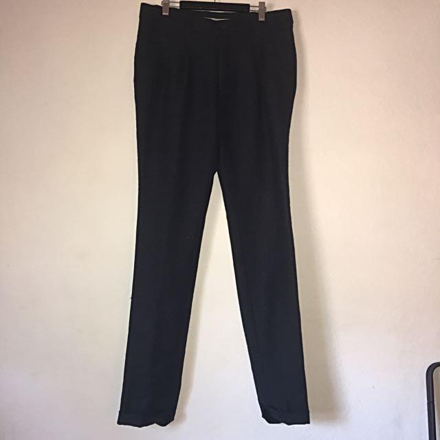 Topman Navy Dress Pants Waist Size 32