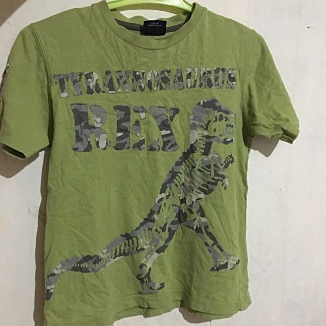 T-rex Shirt M Size