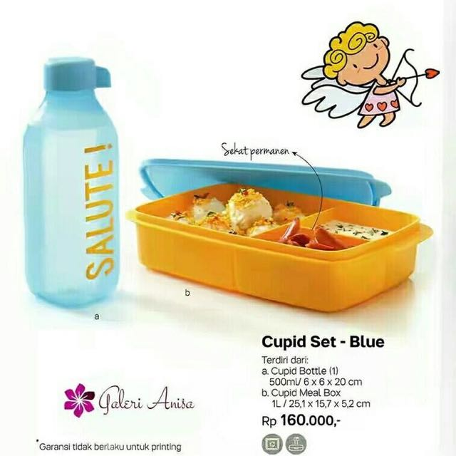 Tupperware Cupit Set Blue