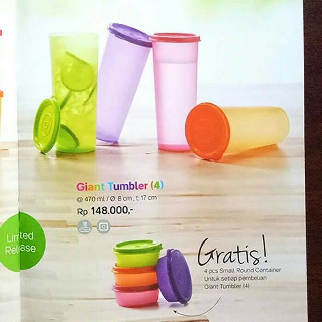 Tupperware Gaint Tumbler 4