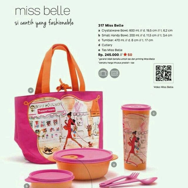 Tupperware Miss Belle