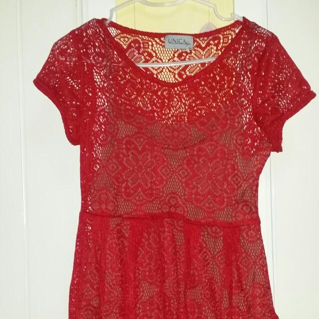 Unica Hija - RED dress