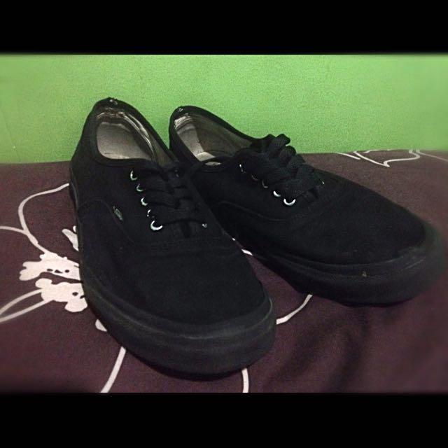Vans Authentic all black Original