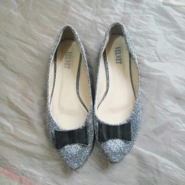 Velvet Flat Shoes