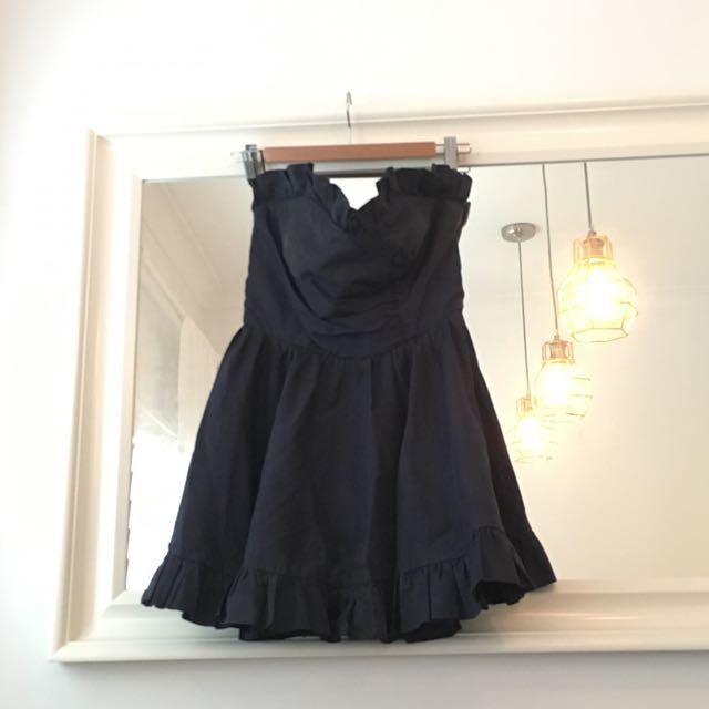 Vintage Navy Mini Dress
