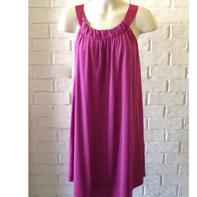 WAYNE by WAYNE COOPER Pink dress size 10 Bust 90cm A line loose fit Satin Straps Near New