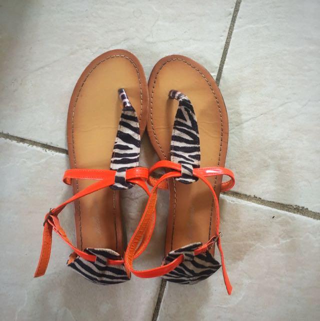 Women Flats Sandals Size 6