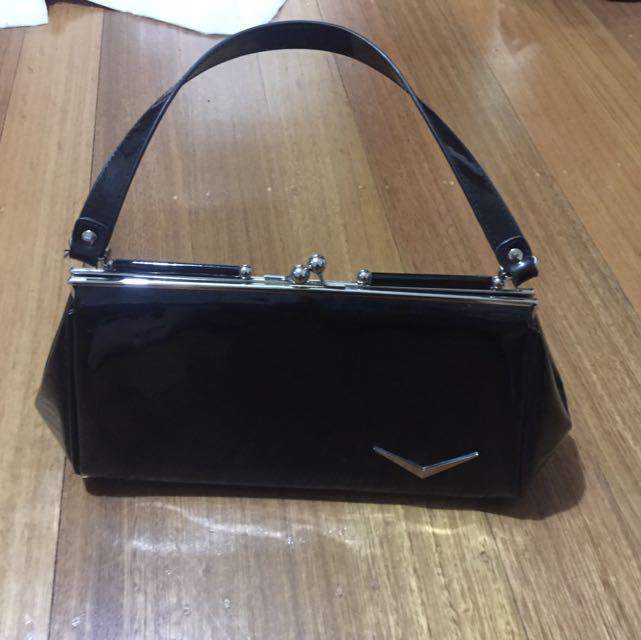 Women's Lux de Ville Black Handbag
