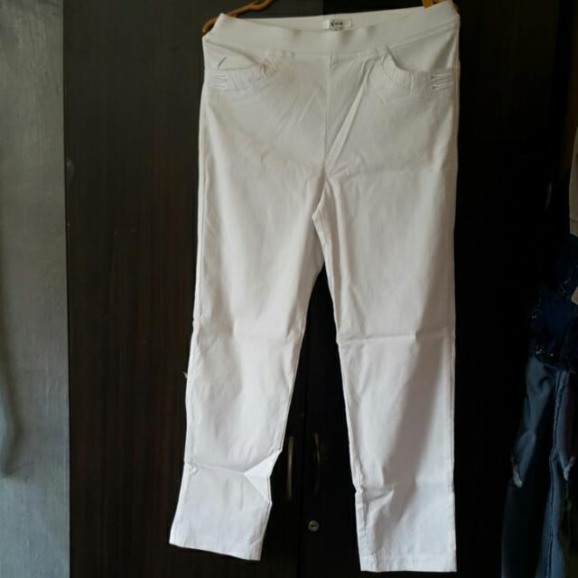 Xara White Pants
