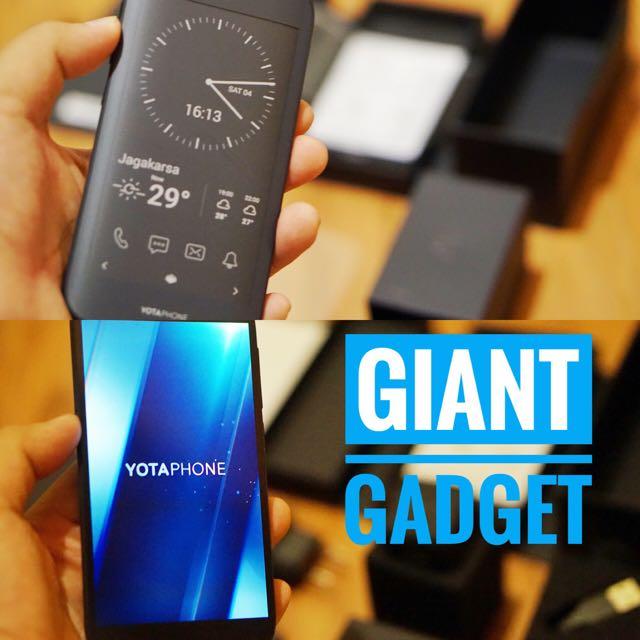 Yota Phone 2 Android 2 Layar 4G LTE Murah