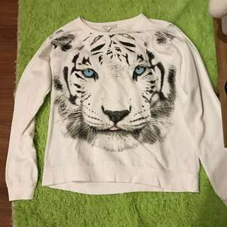 Forever 21 Tiger Sweater