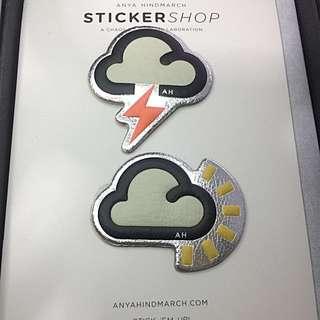 全新正品 英國品牌Anya皮革貼紙