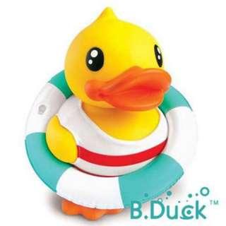 B DUCK 黃色小鴨 存錢筒 泳圈限定版