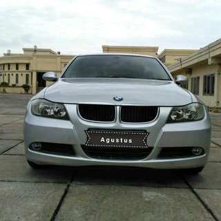 BMW Lifestyle 320i Th 2009 Silver Metalik