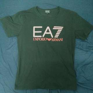 EA7黑T Size L