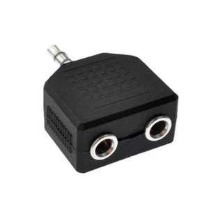 3.5mm Male Jack to AV Audio RCA Female Adapter