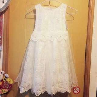 👧🏻花囡裙仔👗小童白色婚紗👰🏻童裝