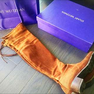 Stuart Weitzman Over The Knee Boots