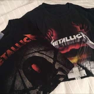 TWO vintage Metallica Tees 2 For 30