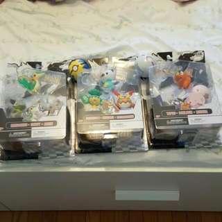 Pokemon Poke Ball Squeeze Toys + Figures