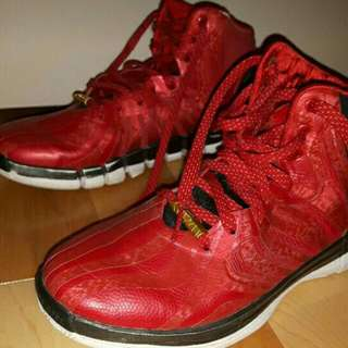 Red Derrick Rose 4.5 Basketball Shoes