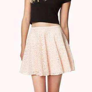 Forever21 Lace Skirt