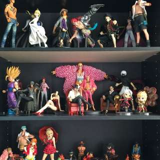 Anime Figures (one Piece, Dragon Ball, Naruto, Fate Stay Night)