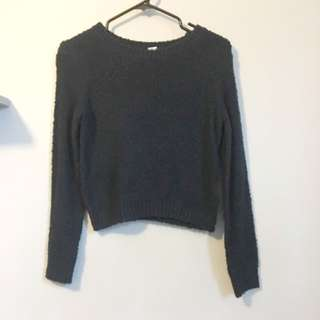 Navy H&M Sweater