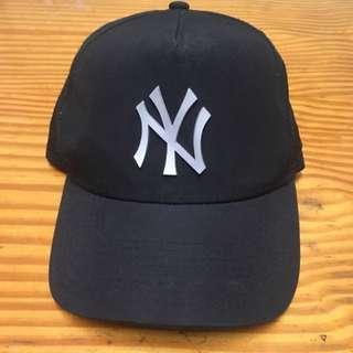 New Era NY Black Baseball Cap