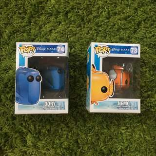 Funky Pop Vinyl Nemo And Dory