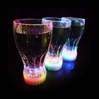 Flashing LED Cola Cups