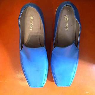 Gorman Blue Square Toe (37)