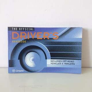Official Driver's Handbook '02