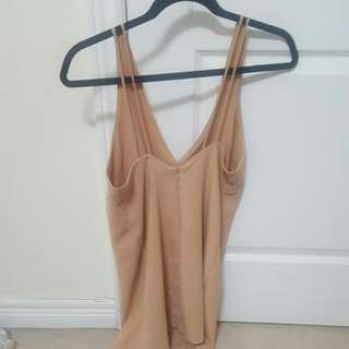 Camel Coloured Dress