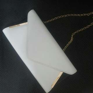 Aldo Clutch With Gold Details