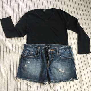 Set of Top and Shorts