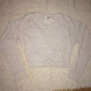 H&M Divided Cropped Longsleeve
